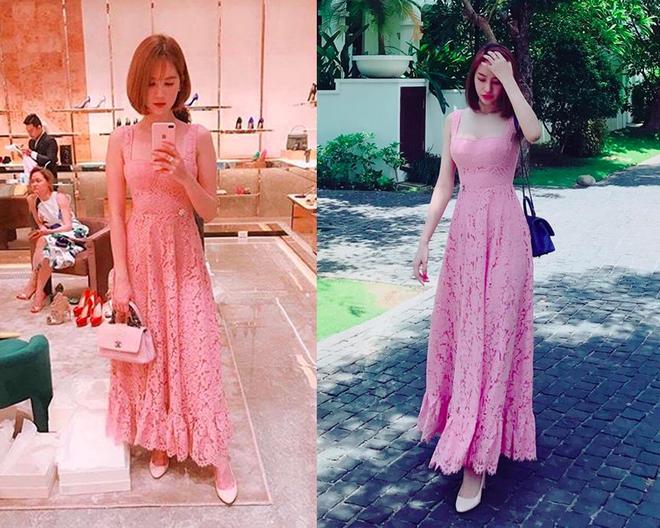 Ngọc Trinh - Linh Chi: chị em thân đến nỗi còn thường xuyên mặc váy áo của nhau - Ảnh 5.