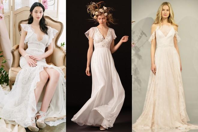 Nếu cưới năm nay, đừng bỏ qua những thiết kế váy cưới đẹp không tưởng này! - Ảnh 10.