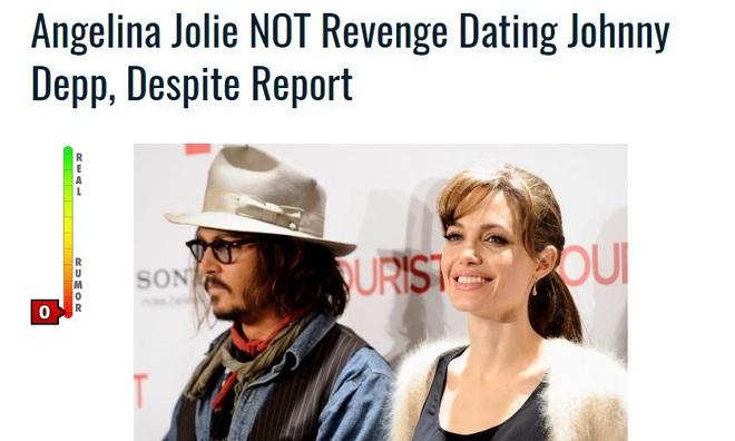 Angelina Jolie không quay lại với Brad Pitt vì đang hẹn hò với Johnny Depp? - Ảnh 2.
