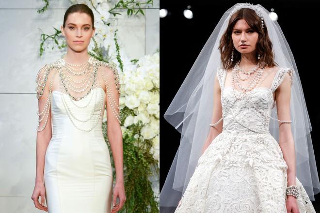 Nếu cưới năm nay, đừng bỏ qua những thiết kế váy cưới đẹp không tưởng này! - Ảnh 2.