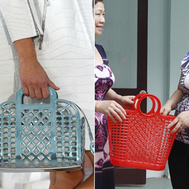 Tay xách làn đi chợ, cổ đeo vòng chìa khóa giờ mới là mốt sành điệu của giới thời trang  - Ảnh 7.