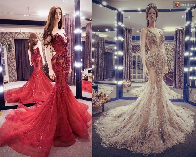 Hé lộ đầm dạ hội mặc đêm Chung kết Miss Grand International của Huyền My, trông chẳng khác gì đầm mặc hôm Bán kết - Ảnh 10.