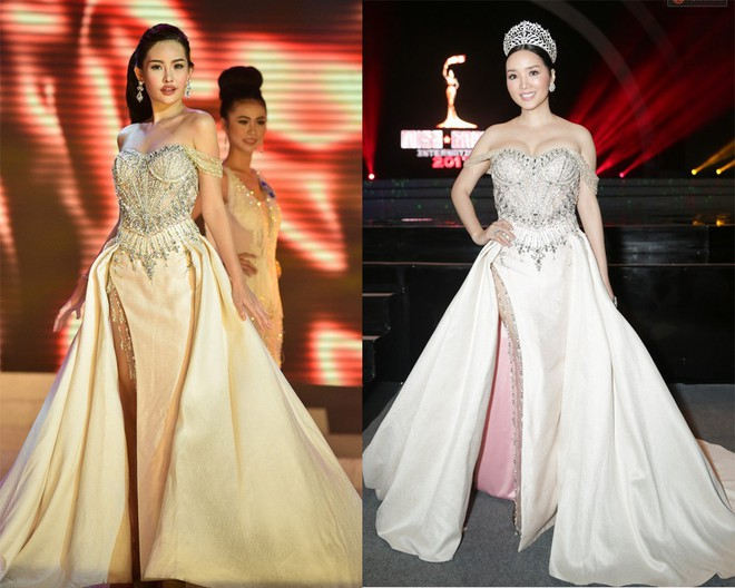 Vừa ồn ào chuyện dao kéo, Hoa hậu Đại dương lại đụng hàng váy áo với loạt người đẹp  - Ảnh 8.