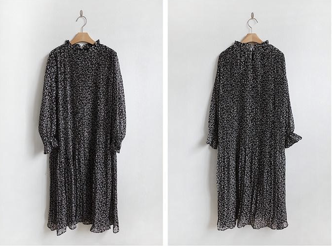 Váy áo cổ hoa phăng - item hot nhất nhì mùa thu mà các nàng không thể bỏ qua - Ảnh 13.