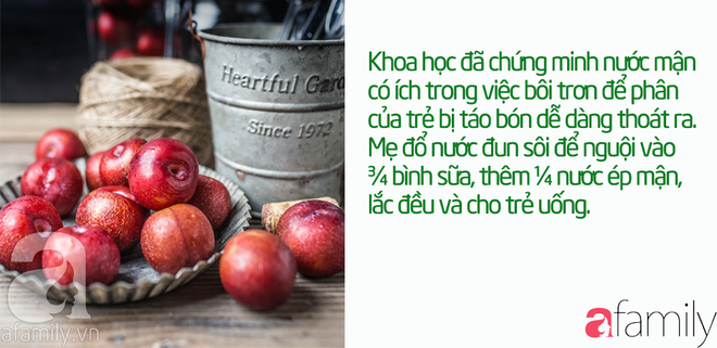 43 mẹo vặt chữa táo bón cho bé từ 1 tháng tuổi khỏi dứt điểm mà không cần uống thuốc - Ảnh 10.