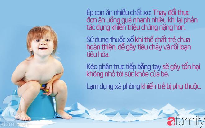 43 mẹo vặt chữa táo bón cho bé từ 1 tháng tuổi khỏi dứt điểm mà không cần uống thuốc - Ảnh 2.