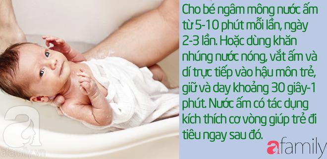 43 mẹo vặt chữa táo bón cho bé từ 1 tháng tuổi khỏi dứt điểm mà không cần uống thuốc - Ảnh 6.