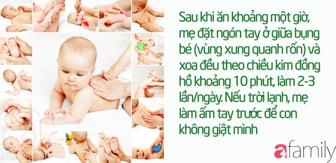43 mẹo vặt chữa táo bón cho bé từ 1 tháng tuổi khỏi dứt điểm mà không cần uống thuốc - Ảnh 7.