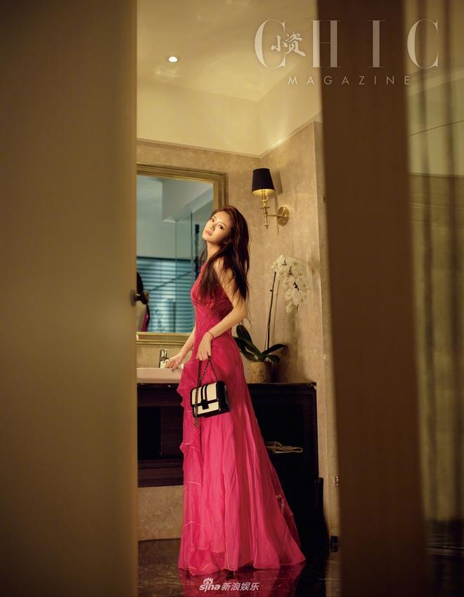Cô dâu An Dĩ Hiên lả lơi gợi cảm trong bộ ảnh mới - ảnh 6