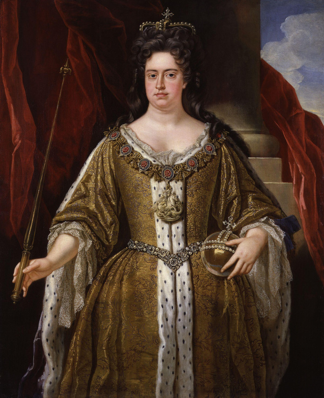 Nữ hoàng bi kịch nhất Vương quốc Anh: 17 lần mất con, bị người tình đồng tính nguyền rủa, chết vì bệnh béo phì - Ảnh 4.