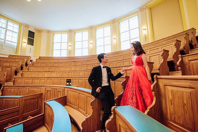 Cặp đôi Việt kiều Séc tỏ tình lãng mạn trên tuyết, chụp ảnh cưới hẹn hò trong… phòng giải phẫu - Ảnh 17.