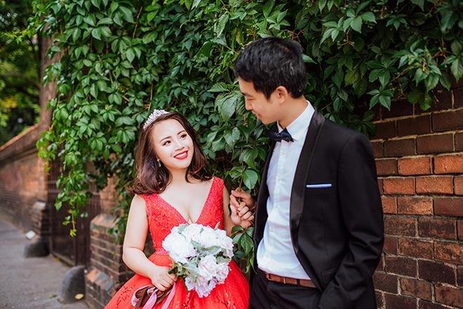 Cặp đôi Việt kiều Séc tỏ tình lãng mạn trên tuyết, chụp ảnh cưới hẹn hò trong… phòng giải phẫu - Ảnh 2.