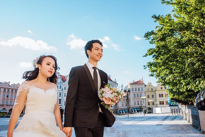 Cặp đôi Việt kiều Séc tỏ tình lãng mạn trên tuyết, chụp ảnh cưới hẹn hò trong… phòng giải phẫu - Ảnh 11.