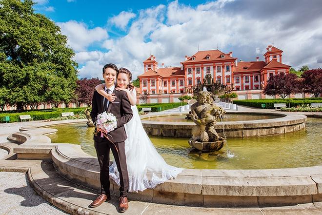 Cặp đôi Việt kiều Séc tỏ tình lãng mạn trên tuyết, chụp ảnh cưới hẹn hò trong… phòng giải phẫu - Ảnh 4.