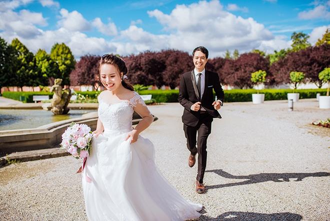 Cặp đôi Việt kiều Séc tỏ tình lãng mạn trên tuyết, chụp ảnh cưới hẹn hò trong… phòng giải phẫu - Ảnh 3.