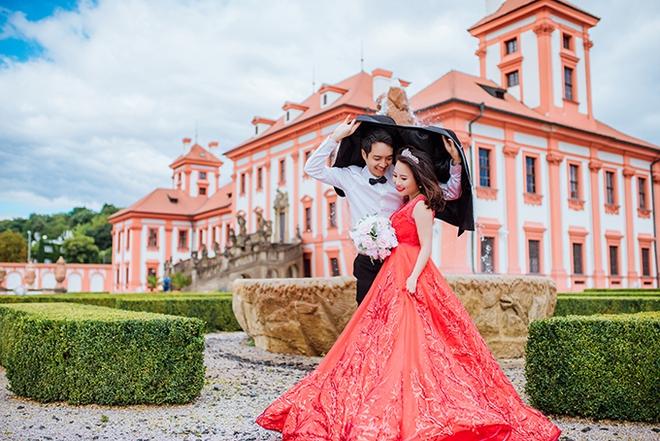 Cặp đôi Việt kiều Séc tỏ tình lãng mạn trên tuyết, chụp ảnh cưới hẹn hò trong… phòng giải phẫu - Ảnh 15.