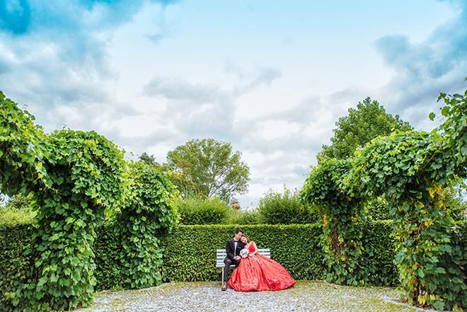 Cặp đôi Việt kiều Séc tỏ tình lãng mạn trên tuyết, chụp ảnh cưới hẹn hò trong… phòng giải phẫu - Ảnh 14.