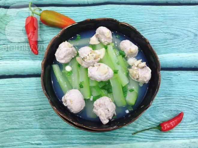 Chút biến tấu cho món canh bầu nấu ngao thêm ngon - Ảnh 6.