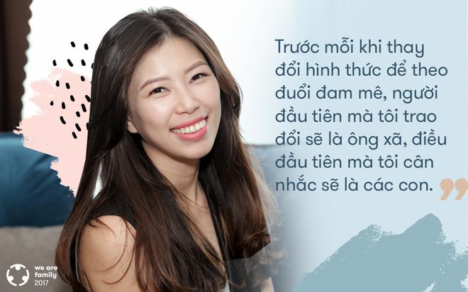 Tô Hồng Vân - bà mẹ quyết đổi nghề khi đã có 3 con: Bởi đam mê luôn nằm trong tim - Ảnh 7.