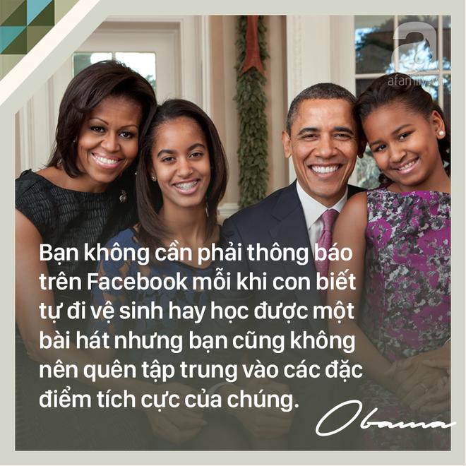 7 quy tắc vàng nuôi dạy con khiến cựu Tổng thống Mỹ Barack Obama trở thành ông bố trên cả tuyệt vời - Ảnh 3.