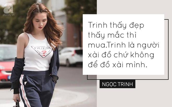 Trong showbiz Việt liệu có ai đủ bản lĩnh phát ngôn về hàng hiệu sốc như Ngọc Trinh - Ảnh 2.