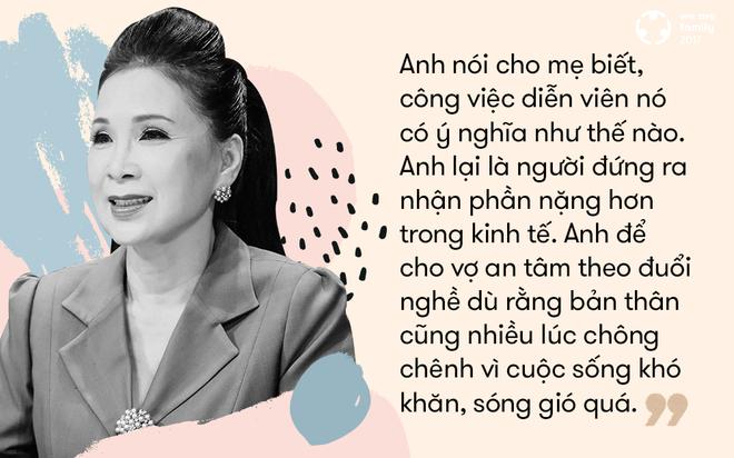 NSƯT Kim Xuân: Đi gần hết cuộc đời, vẫn thấy ấm lòng vì có chồng con bên cạnh - Ảnh 7.