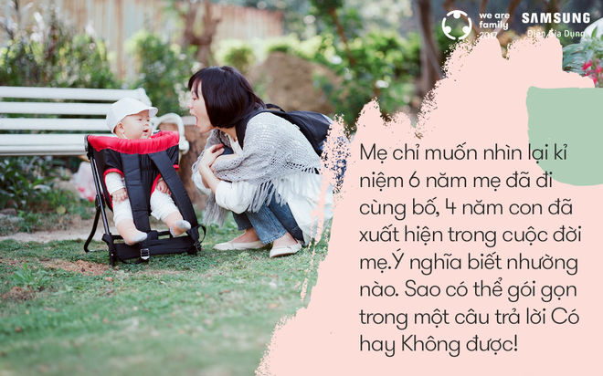 Có bố và có con, mẹ biết rằng mình không bao giờ đơn độc - Ảnh 2.