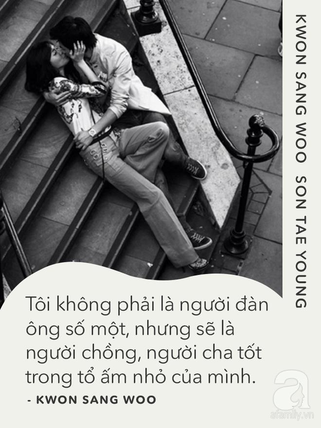 Kwon Sang Woo và Son Tae Young: Tình yêu không phải là lời thề non hẹn biển, chỉ đơn giản là cùng nhau bình yên - Ảnh 3.