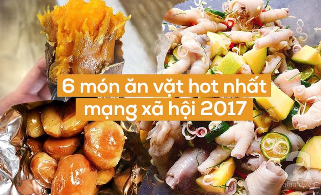 Check list 6 món ăn vặt được chị em gọi đồ online rầm rộ nhất năm 2017 - Ảnh 1.