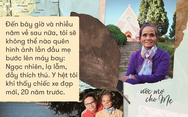 Con trai muốn nắm tay mẹ đi khắp đất nước: Thời gian chẳng còn nhiều, con sẽ đưa mẹ đến nơi mẹ mơ ước - Ảnh 8.