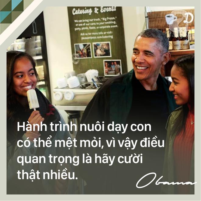 7 quy tắc vàng nuôi dạy con khiến cựu Tổng thống Mỹ Barack Obama trở thành ông bố trên cả tuyệt vời - Ảnh 2.