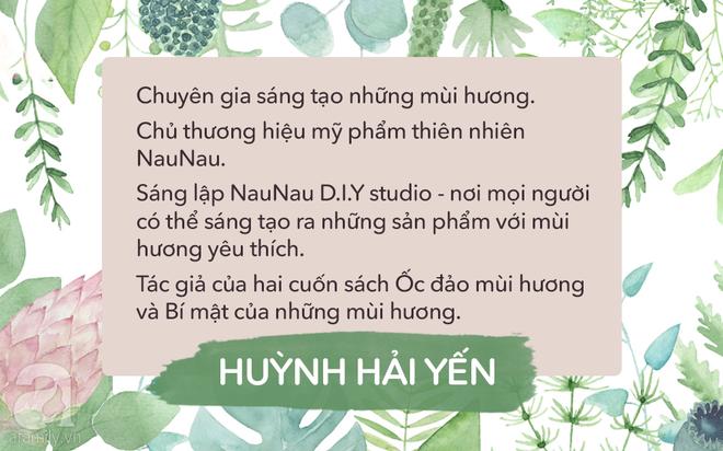 """""""Nữ hoàng mùi hương"""" Huỳnh Hải Yến: Giấu đi đam mê của mình là khóa lại cánh cửa hạnh phúc rồi! - Ảnh 1."""