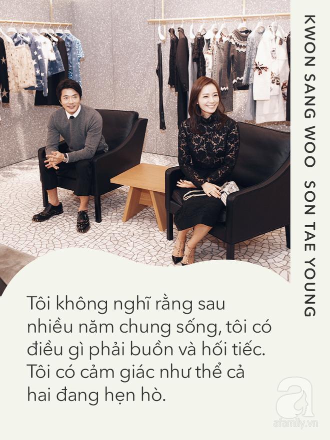 Kwon Sang Woo và Son Tae Young: Tình yêu không phải là lời thề non hẹn biển, chỉ đơn giản là cùng nhau bình yên - Ảnh 4.