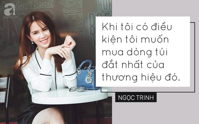 Trong showbiz Việt liệu có ai đủ bản lĩnh phát ngôn về hàng hiệu sốc như Ngọc Trinh - Ảnh 5.