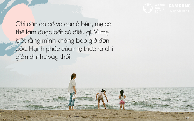 Có bố và có con, mẹ biết rằng mình không bao giờ đơn độc - Ảnh 5.