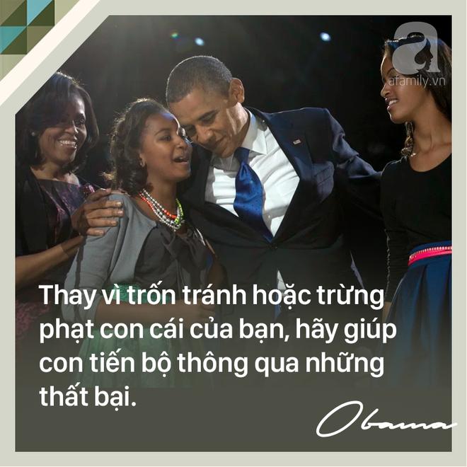 7 quy tắc vàng nuôi dạy con khiến cựu Tổng thống Mỹ Barack Obama trở thành ông bố trên cả tuyệt vời - Ảnh 6.