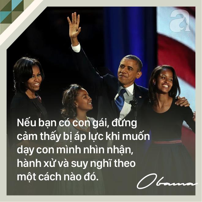 7 quy tắc vàng nuôi dạy con khiến cựu Tổng thống Mỹ Barack Obama trở thành ông bố trên cả tuyệt vời - Ảnh 8.