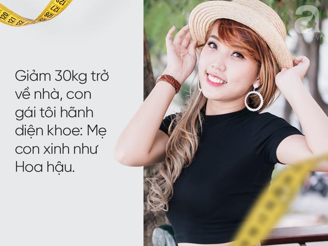 Quán quân Bước nhảy ngàn cân - Thanh Huyền: Giảm 30kg trở về nhà, con gái khen mẹ xinh như Hoa hậu - Ảnh 7.