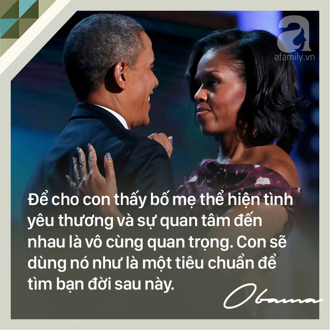 7 quy tắc vàng nuôi dạy con khiến cựu Tổng thống Mỹ Barack Obama trở thành ông bố trên cả tuyệt vời - Ảnh 7.