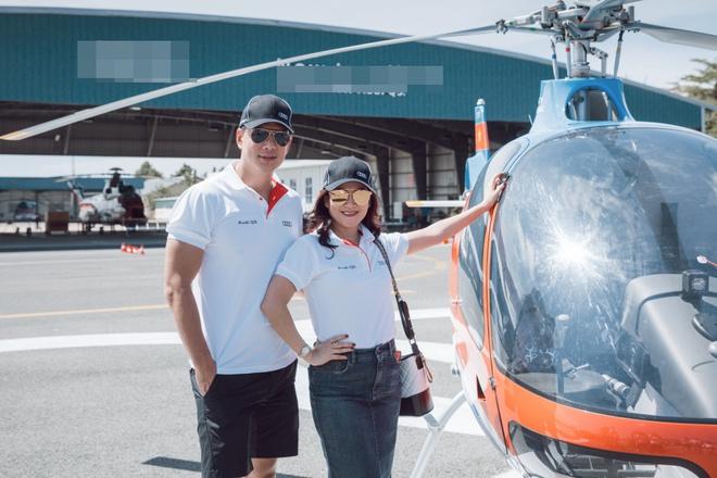 Thanh Hằng, Linh Nga khoe dáng cực ngầu bên trực thăng - ảnh 4