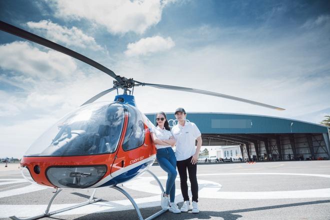 Thanh Hằng, Linh Nga khoe dáng cực ngầu bên trực thăng - ảnh 5