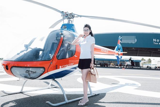 Thanh Hằng, Linh Nga khoe dáng cực ngầu bên trực thăng - Ảnh 6.