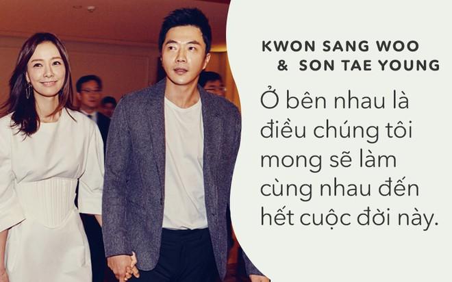 Kwon Sang Woo và Son Tae Young: Tình yêu không phải là lời thề non hẹn biển, chỉ đơn giản là cùng nhau bình yên - Ảnh 1.