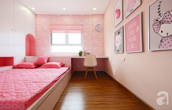 Với 350 triệu, căn hộ ở quận Thanh Xuân đã lột xác hoàn toàn theo yêu cầu rẻ, đẹp, hiện đại của gia chủ - Ảnh 6.