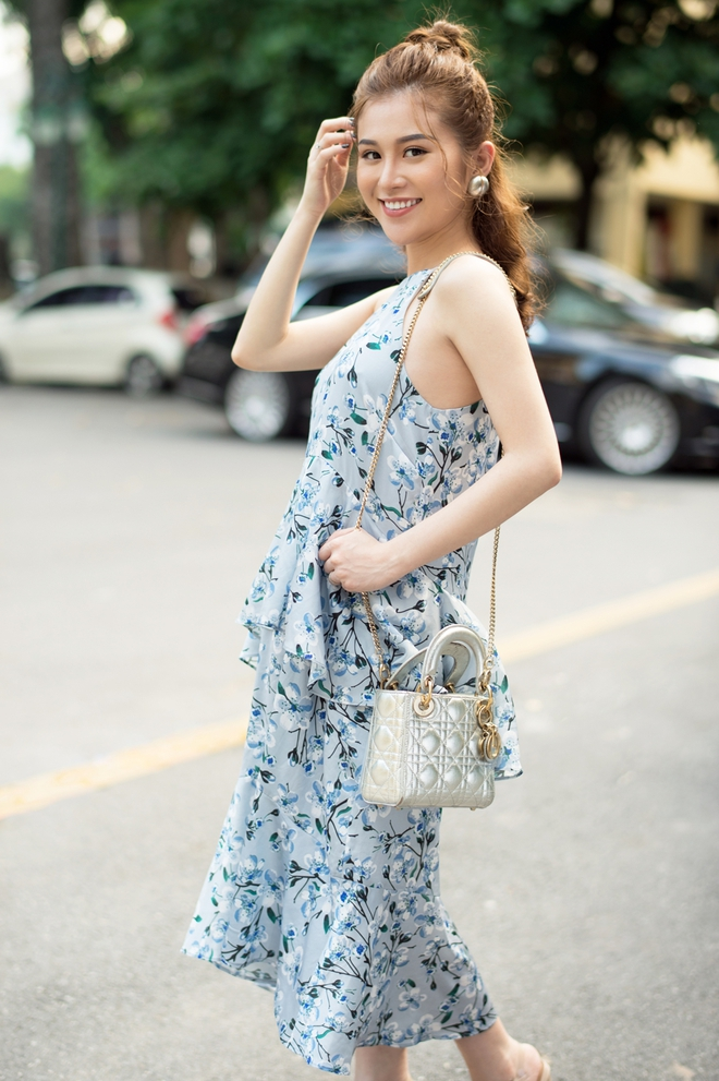"""Mẹ bầu 6 tháng vẫn đẹp như Hoa hậu: """"Mỗi ngày soi gương đều mỉm cười hạnh phúc"""" - Ảnh 5."""