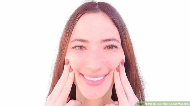 Dù ngồi không cũng nên tập những bài tập này để có môi xinh, má mọng, mặt không nếp nhăn - Ảnh 8.