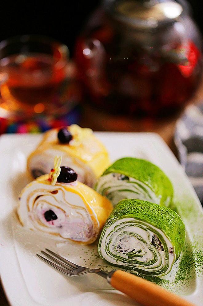 Mềm mịn món bánh crepe cuộn kem ngon ngất ngây - Ảnh 8.