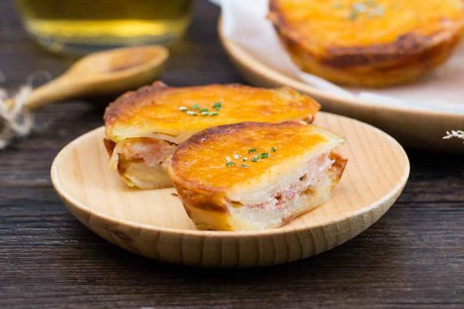 Thử làm bánh khoai tây phô mai theo cách này chắc chắn ai cũng sẽ mê mẩn ngay - Ảnh 8.