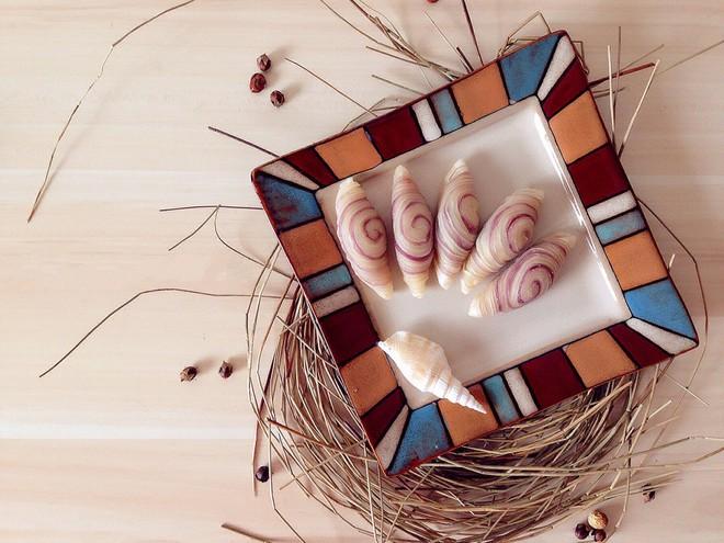 Không cần lò nướng cũng làm được bánh xoắn ốc siêu đẹp siêu ngon - Ảnh 6.