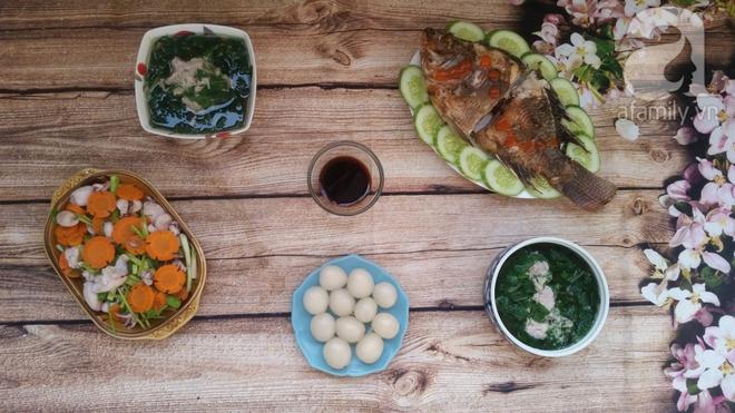 Thực đơn cơm tối chưa tới 90k mà đủ cá thịt rau siêu ngon - Ảnh 5.